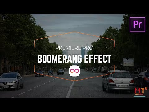 How to create a BOOMERANG video effect in Premiere Pro CC 2017 Tutorial