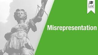 Download Contract Law - Misrepresentation Video