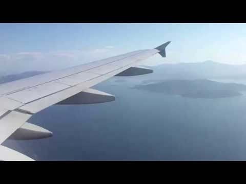Santorini to Athens on Olympic Airlines