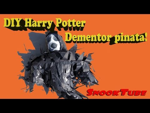 DIY Dementor Pinata Tutorial! Have the perfect Harry Potter Birthday!