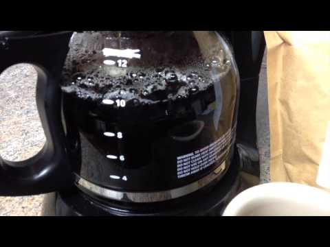 Making Tea in a Coffee Pot :(