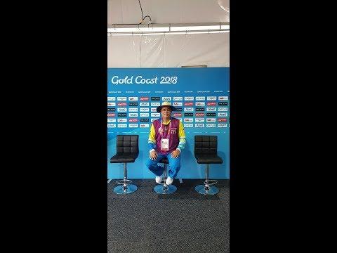 Ajay Bakhshi II Flash Press Reporting II Volunteer II Commonwealth Games 2018