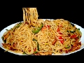 Tasty Spaghetti Recipe - Chicken Vegetable Spaghetti - Homemade Spaghetti Recipe