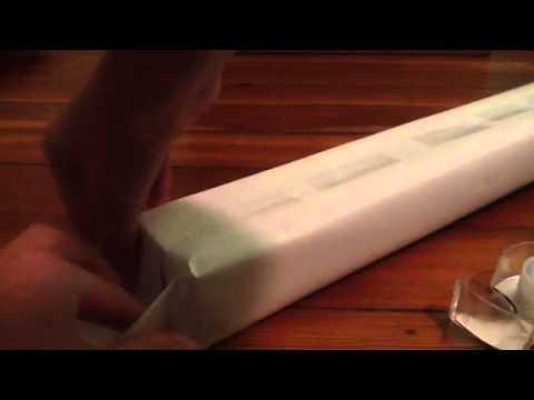How to make a doll gymnastics balance beam