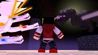 Minecraft Mods: Saphira #68 - The King VS Ender Dragon ‹ AM3NlC ›