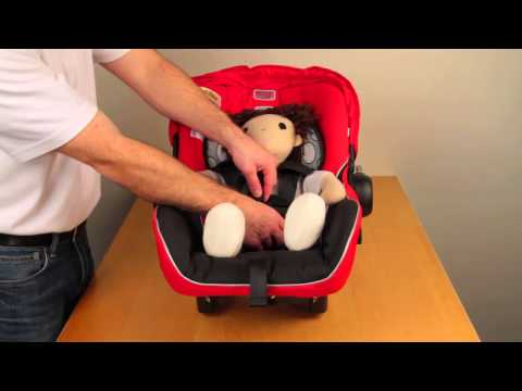 BRITAX B-SAFE: Securing Your Child in the Seat