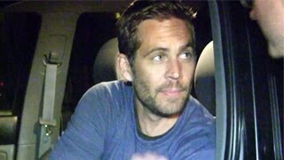 Paul Walker's Last Video Footage Before Accident