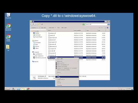 How to Register 32bit dll in windows 64bit