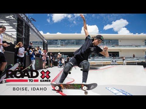 watch FULL REPLAY: Women's Skateboard Park Final | X Games Boise Qualifier