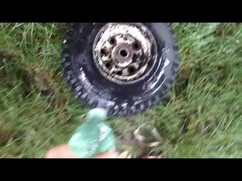 How to make mini bike tires look brand new