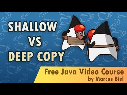 Shallow vs Deep Copy in Java