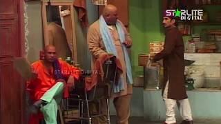 Akram Uddas and Sakhawat Naz New Pakistani Stage Drama  Kali Chader  Full Comedy Clip