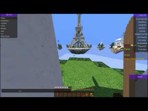 Minecraft 1.11.X Hack Client Fly Noban Killaura Best of 2017