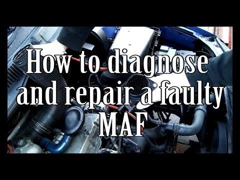 How to diagnose and repair a MAF Sensor