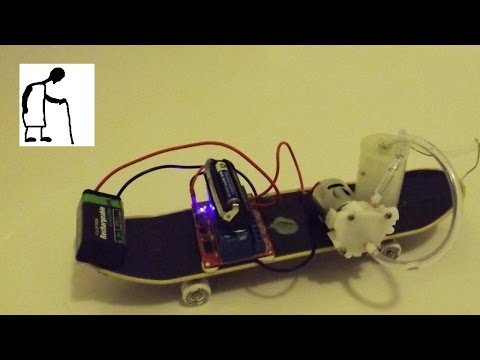 Infrared Remote Controlled Water Pump 'Car'