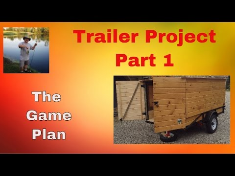Building my DIY Camping Trailer- pt1 The plan