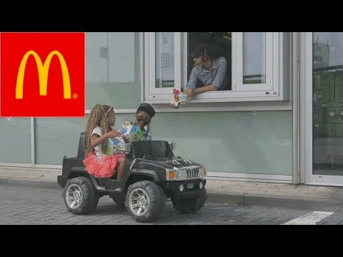 6 YEAR OLD MCDRIVE DATE PRANK!!  HAPPYMEAL 2.0