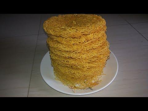 Satam Special Besan Sev - Gram flour noodles - namkeen Sev recipe -Gujarati  Farsan