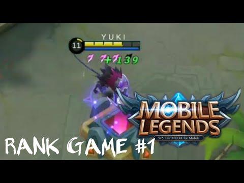 Mobile Legends Rank Game #1 | Jay Jayz