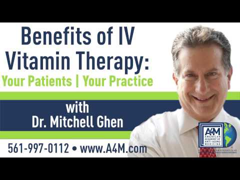 Webinar: Benefits of IV Vitamin Therapy with Mitch Ghen, DO