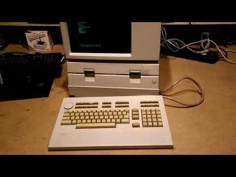 HP 9836 HP 200 Series Unix Workstation - kurz gezeigt - quick demonstration