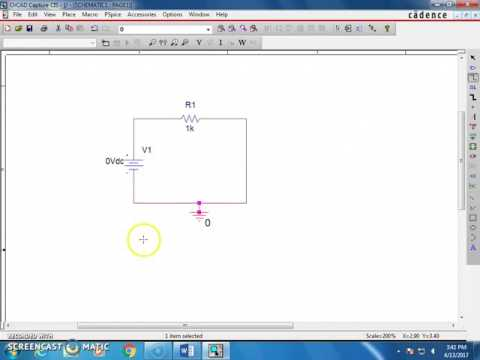 OrCAD Introduction - DC Circuit