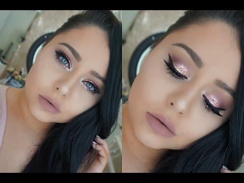 DRUGSTORE GLAM Prom Makeup Tutorial 2016