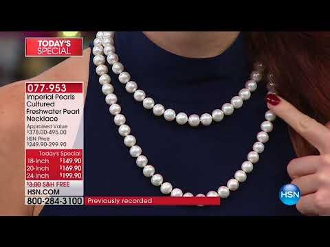 HSN   Imperial Pearls by Josh Bazar 12.12.2017 - 06 AM