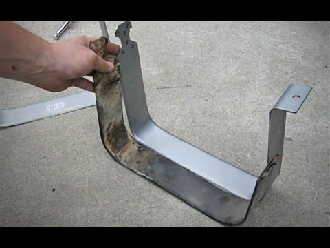 Chevy Silverado Broken Gas Tank Strap Replacement 1999 - 2006