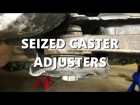 Common Problems - Seized Caster Adjusters | Honda S2000