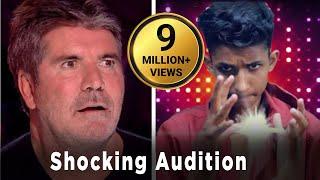 15 Years Boy In Britain Got Talent   Magical Nepali Boy    Most Shocking Auditions       Ganesh GD