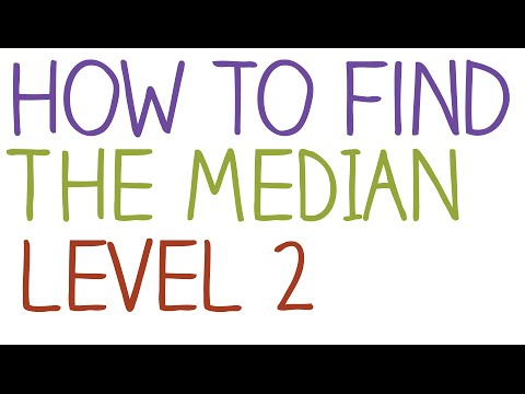 How to find the Median - Level 2
