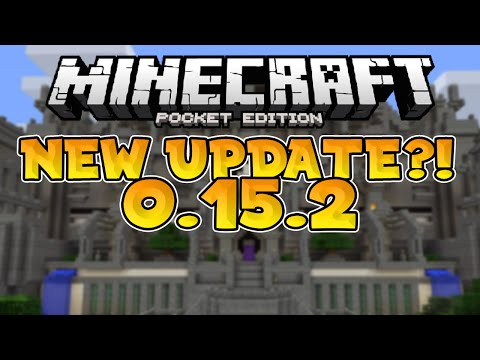 NEW MCPE 0.15.2 Update!!! // iOS Multiplayer Update & Fixes - Minecraft PE (Pocket Edition)