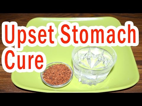 Home Remedy to Treat Upset Stomach