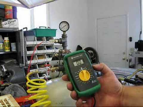 #08-044 Oil Pressure Sensor First Operational Test