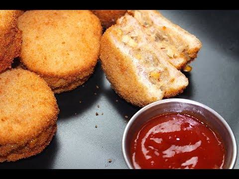 BREAD PATTIES RECIPE *COOK WITH FAIZA*