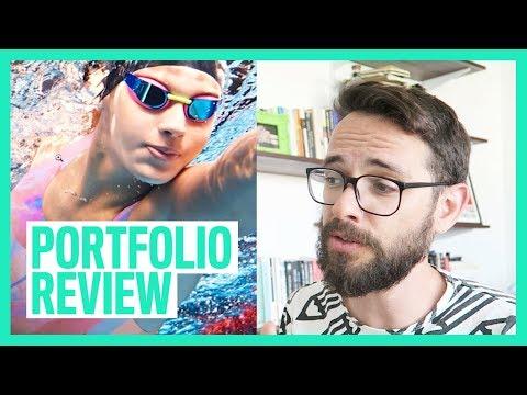 Graphic Design Portfolio Review (Recent Graduate)
