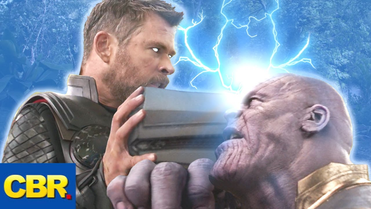 What If Thor Went For the Head and Prevented the Snap?