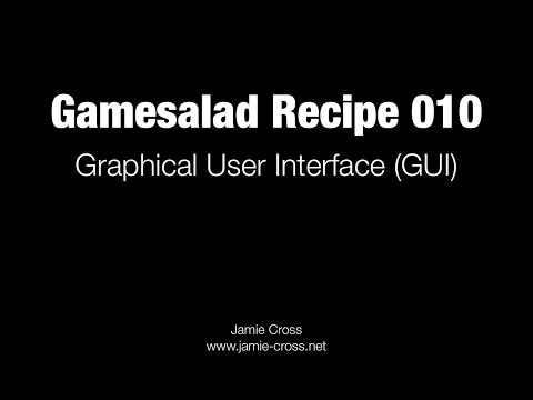 Gamesalad Graphical User Interface (non-scrolling GUI)