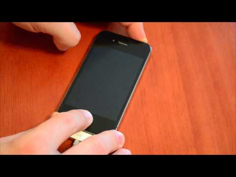 How to put the iPhone 4S into DFU Mode