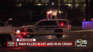 Download Deadly hit-and-run crash shuts down McDowell Road near 43rd avenue Video