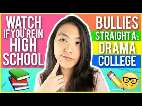 ✏️HIGH SCHOOL ADVICE: HOW TO DEAL WITH BULLIES + GET STRAIGHT A's in SCHOOL 2017! | Katie Tracy