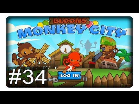 Ich bin wieder da! #34 || Let's Play Bloons Monkey City | Deutsch | German