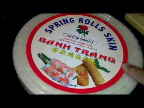 Vietnamese BBQ Pork Spring Roll