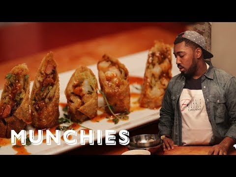 How to make Egg Rolls with Chef E-Dubble