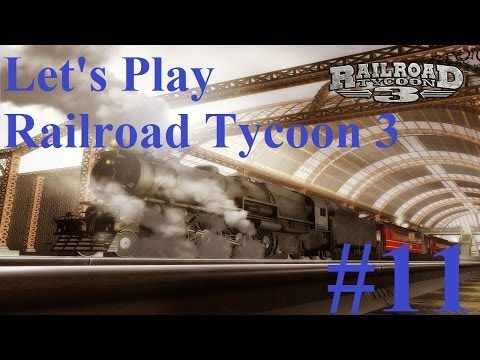 11. Let's Play Railroad Tycoon 3 - Amazing Tunnel