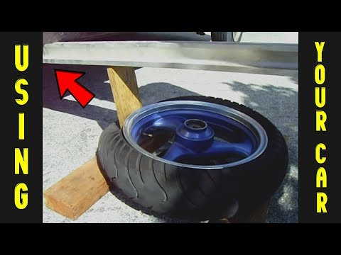 How To Easily Break A Tire Bead - Motorcycle/Auto & More