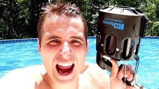 HIGH TECH WATER GUN!! This thing is COOL.
