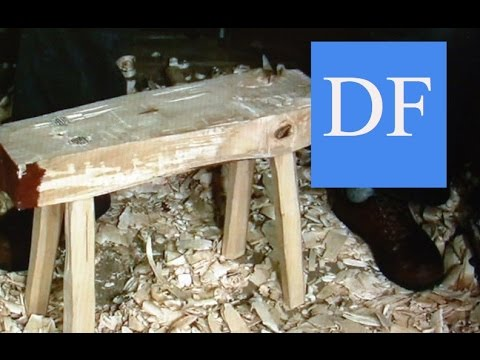 Woodworking Project - Making a  firewood sawhorse