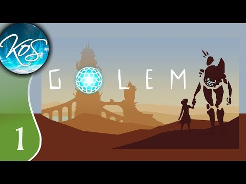 Golem Ep 1: A MAGICAL FRIEND IN THE DESERT - First Look - Let's Play, Gameplay